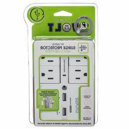 Hype Volt Wall 90 Degree Surge Protector 4 Swivel Outlets 2
