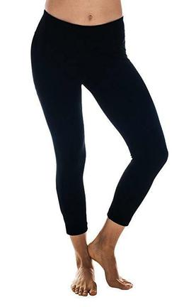 Women 90 Degree By Reflex Power Flex Yoga Capri Leggings Wor