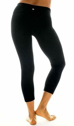 Women 90 Degree By Reflex Power Flex Yoga Capri Leggings NWT