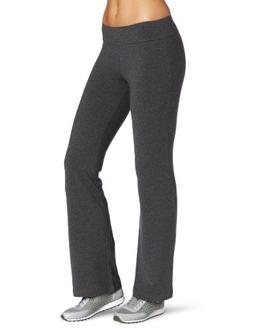 Spalding Women_s Bootleg Pant, Charcoal Heather, Medium