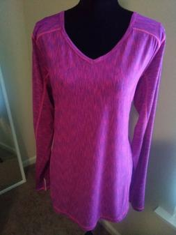 Women's Fuchsia Sportswear top, 90 Degree by Reflex, 1X, NW