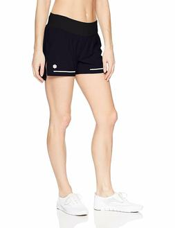 ASICS Women's Lite-Show Laser Shorts, Performance Black, X-L