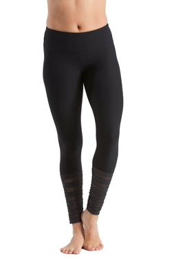 women s mystery leggings large l black