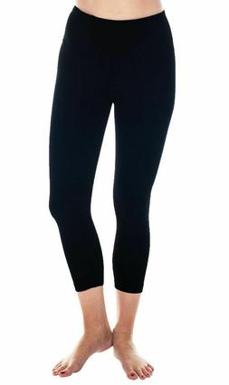 90 Degree By Reflex Women's Power Flex Yoga Pants {SMALL} Bl