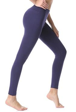 ABUSA Women's Yoga Leggings Power Flex Tummy Control Exercis