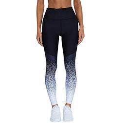 women workout high waist yoga fitness running