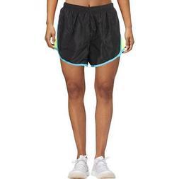 90 Degree by Reflex Womens Black Running Workout Shorts Athl
