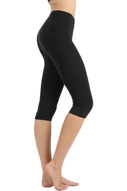 90 Degree By Reflex Womens Medium Power Flex Yoga Pants Capr