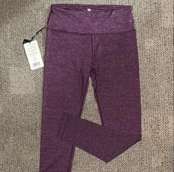 90 degree By Reflex Womens Size Large Grape/Burgundy Legging