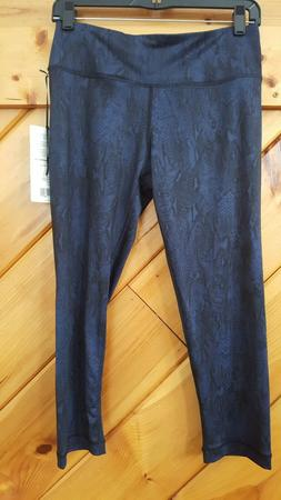 90 DEGREE by Reflex Womens Yoga Athletic Capri Pant NWT$78 s