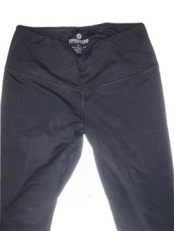 90 Degree By Reflex Womens Yoga Leggings Black Size Medium M