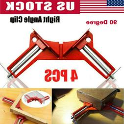 Woodworking Hand Kit Tools 4*90° Degree Right Angle Clip Cl