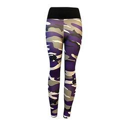 FIRERO Women's Fashion Workout Leggings Fitness Sports Gym R