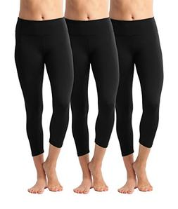90 Degree By Reflex Yoga Capris - Yoga Capris for Women - Hi