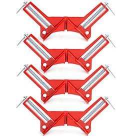 4 PCS Zinc Alloy 90 Degree Right Angle Corner Clamp Picture